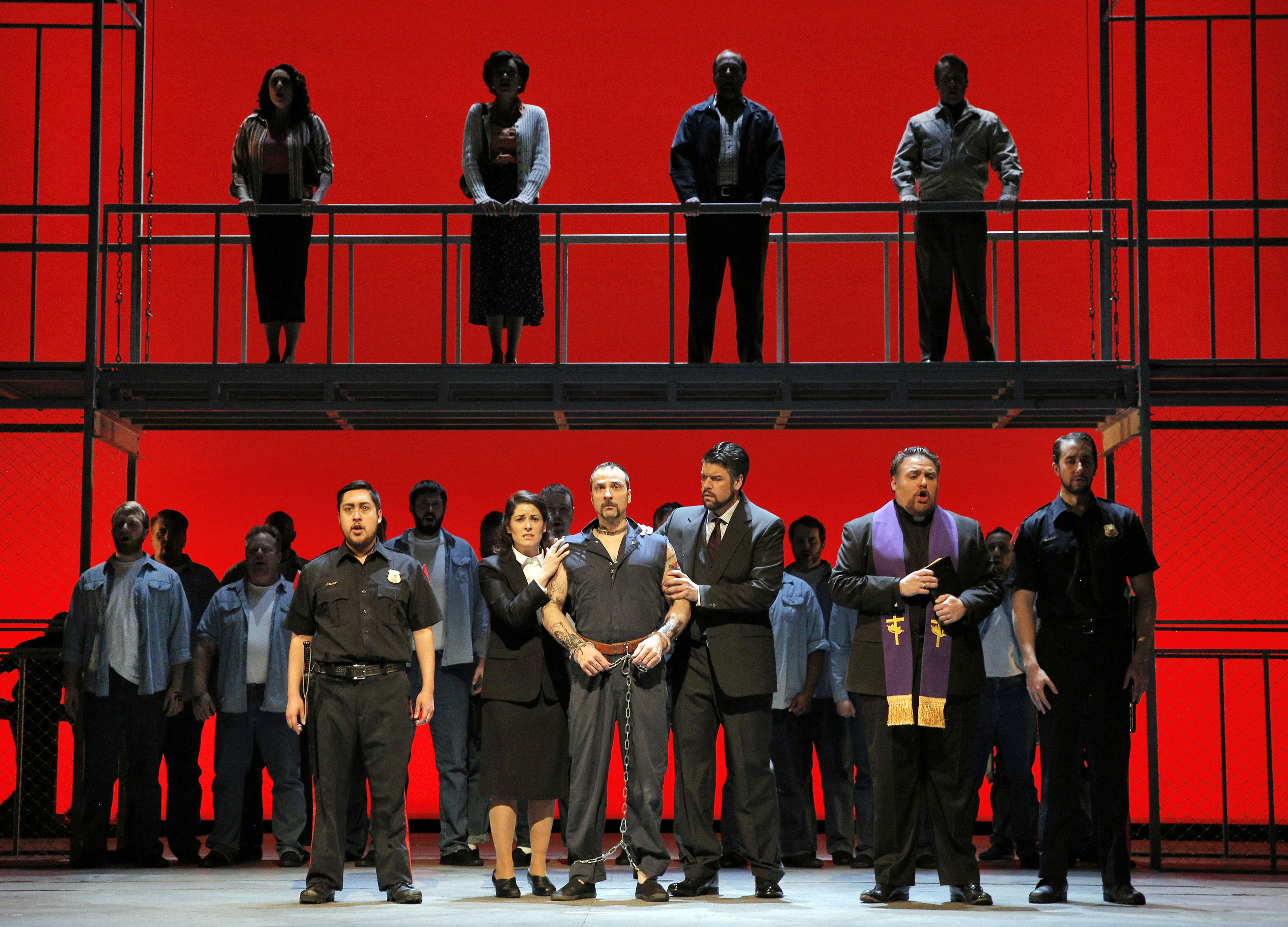 BEHIND BARS: Lyric Opera takes a stab at problematic prison opera (review)