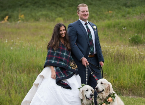 Congratulations, Mr. & Mrs. Sutherland!