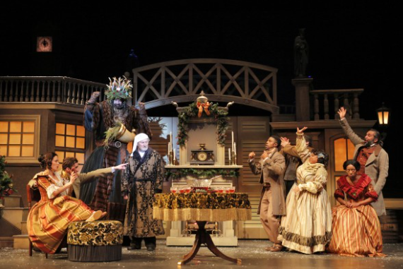 A NEW CAROL: KC Rep creates more faithful adaptation of Dickens classic, as KC Ballet's refreshed holiday favorite receives accolades