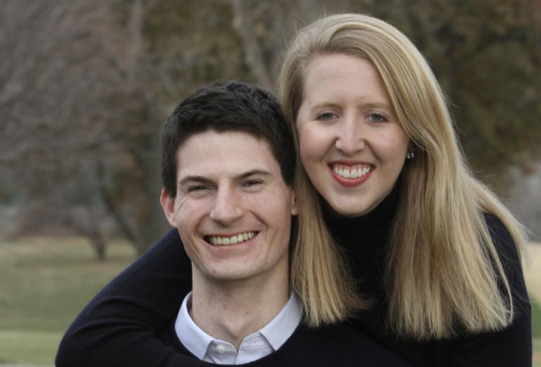 Congratulations, Kathleen & Conrad!