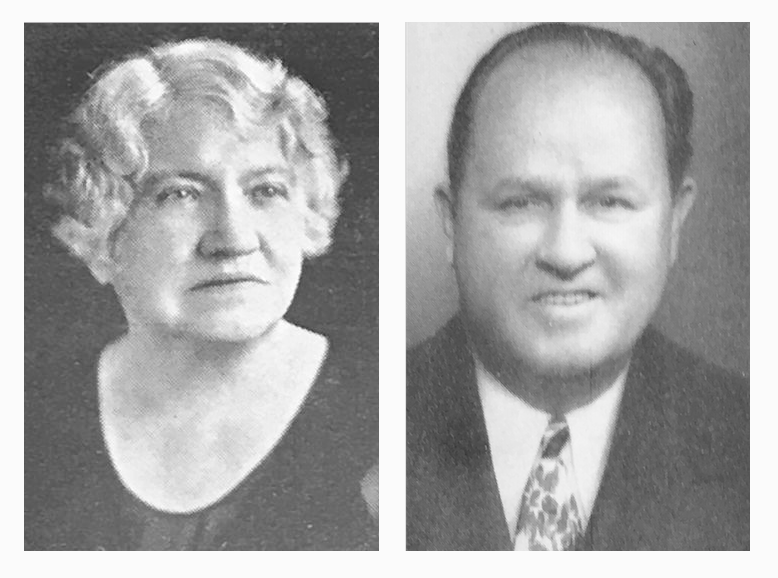 "Mary McGavran & Charles Reed ""Charley"" Cook"