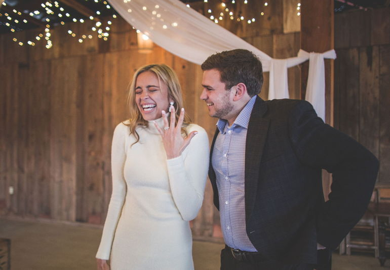 Congratulations, Courtney & Colson!