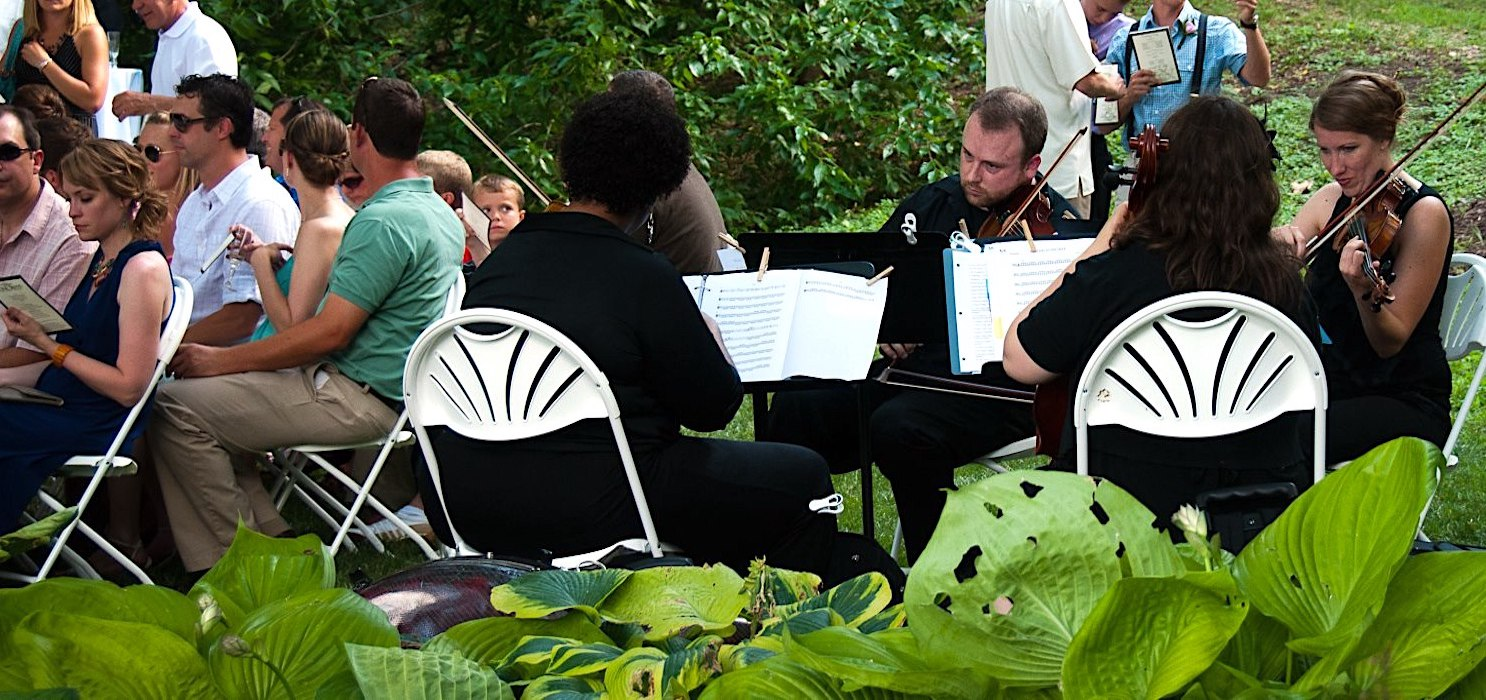 ANYTHING GOES: Musical conventions for weddings are all over the map