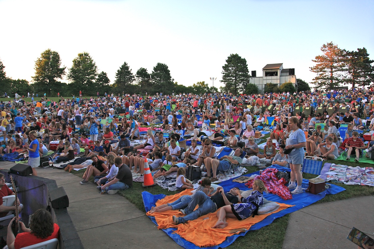 GREEN GRASS, GOLDEN JUBILEE: Theatre in the Park celebrates 50 years with big musicals