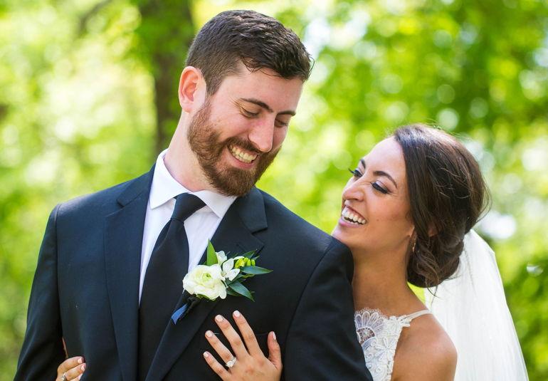 Congratulations, Mr. & Mrs. Wellner!