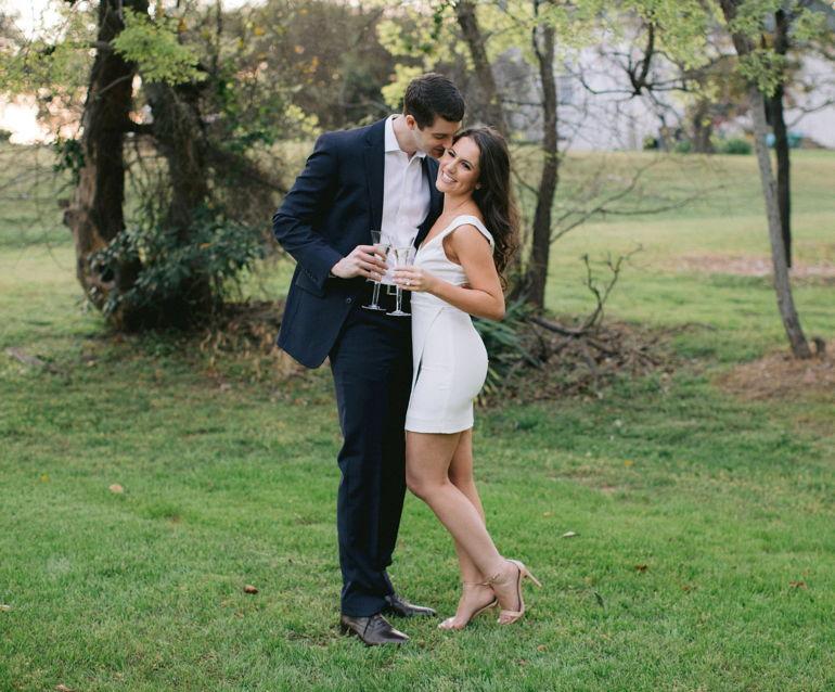 Congratulations, Jessica & Charles!