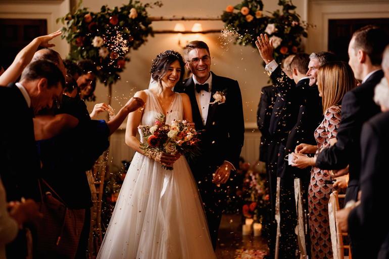 Congratulations, Eliza & Charles!