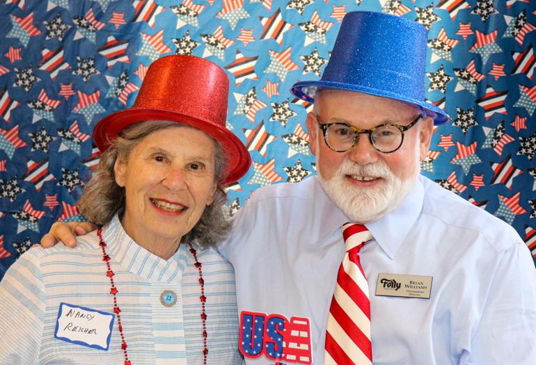 Cheers to Volunteers! – Nancy and Phillip Reicher