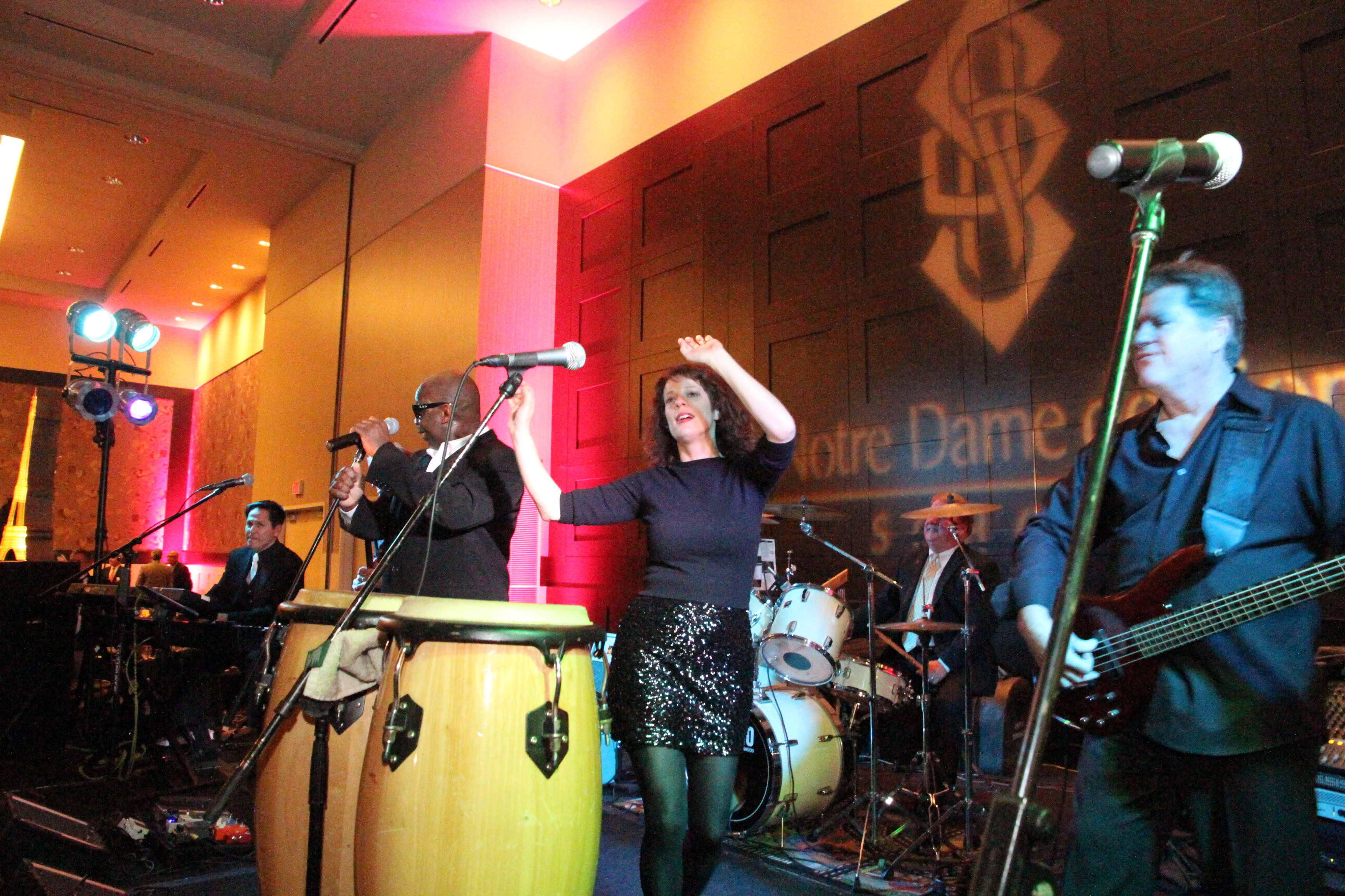 GET ON YOUR FEET: A top-notch live band can make your reception into the party of a lifetime