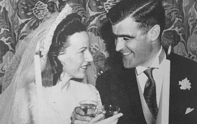 Toast To Olde Tymes – Mary Virginia Snow Austin and Howard Albert Austin, Jr.