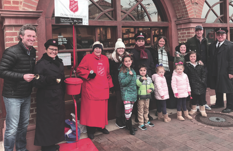 Cheers to Volunteers! – The Salvation Army