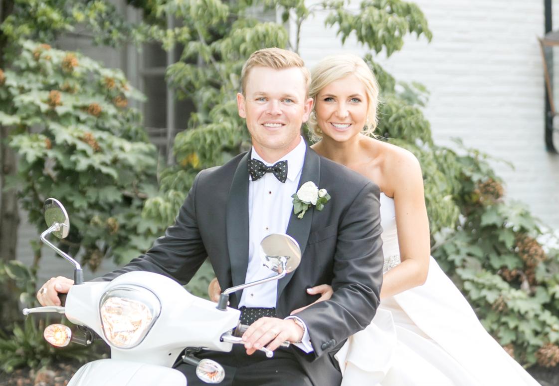 Congratulations, Lauren & Brennan!