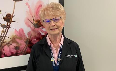 Cheers to Volunteers! – Doris Chrisenbery