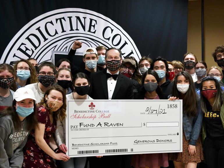 Benedictine College's Virtual Scholarship Ball