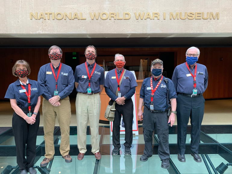 Cheers to Volunteers – National World War I Museum and Memorial