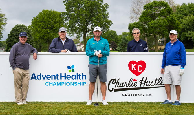 AdventHealth Foundation Shawnee Mission and Charlie Hustle's Heart of KC Foundation – Charity Pro-Am Golf Tournament